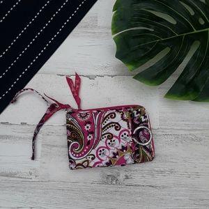Vera Bradley| Wallet Keychain Large Pink Floral